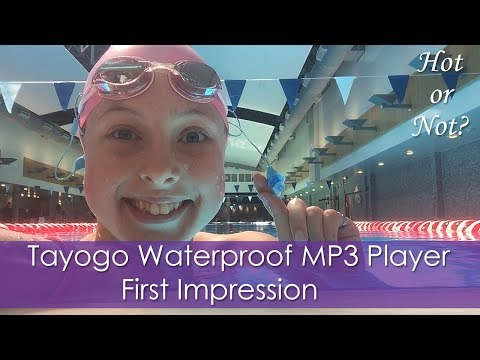 Tayogo Waterproof MP3 Player First Impression! | Hot or Not?