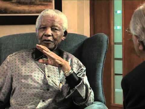 Nelson Mandela in conversation with Ahmed Kathrada