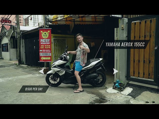 Get around Thailand with Patoy