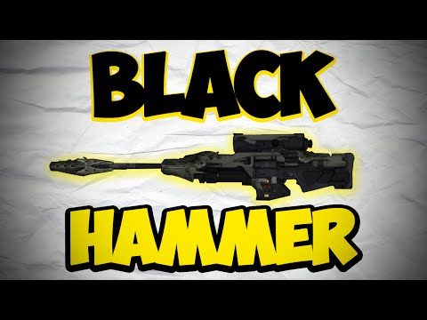 Destiny: Black Hammer Raid Sniper, Best PVE Weapon EVER?!