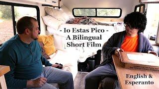 Io Estas Pico / Something's a Pizza – English & Esperanto Short Film