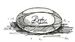 How to draw a Rugby Ball Real Easy