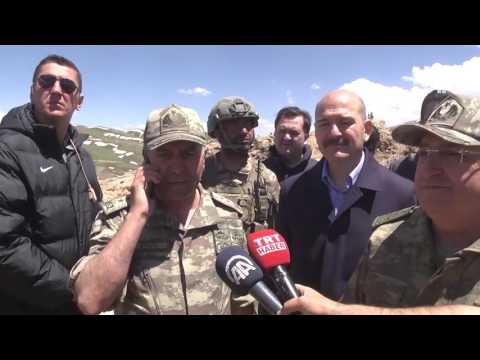Şehit Tümgeneral Aydoğan Aydın, Cumhurbaşkanı Erdoğan'a operasyonlarla ilgili bilgi vermişti