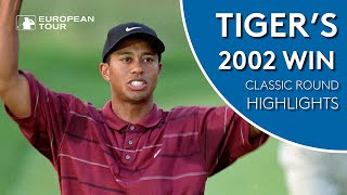 Tiger Wood's shoots 66 to win 2002 WGC | Classic Round Highlights