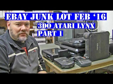 Ebay junk lot Feb '16 Pt1 - intro + a look at the 3do and at