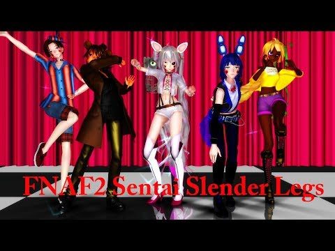FNaF2 【Sentai Slender Legs】 Model DL~ Five Nights at Freddy's 2【MMD x FNAF】