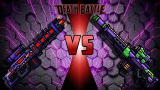 Pixel Gun 3D - Supercharged Rifle VS Eva
