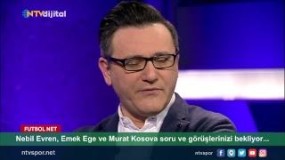 [CANLI] Nebil Evren, Emek Ege ve Murat Kosova Futbol Net'te!