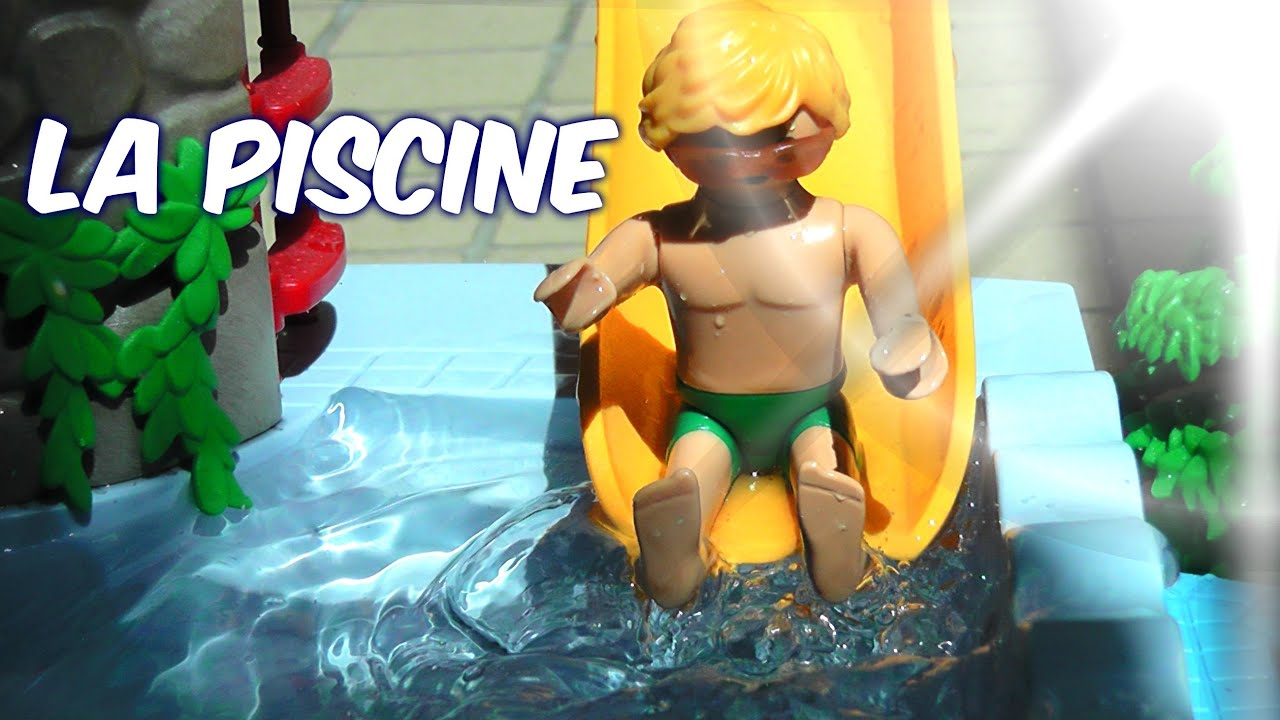 Film playmobil la piscine youtube for Piscine playmobil