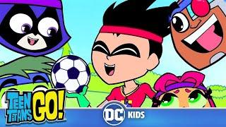 Teen Titans Go! En Español | Clases de fútbol | DC Kids