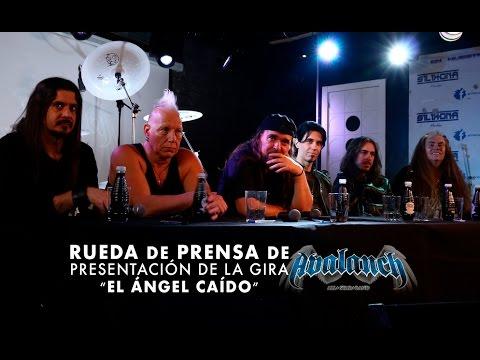 """Rueda de prensa de Avalanch: Presentación de la gira """"El Ángel Caído- XV Aniversario"""""""