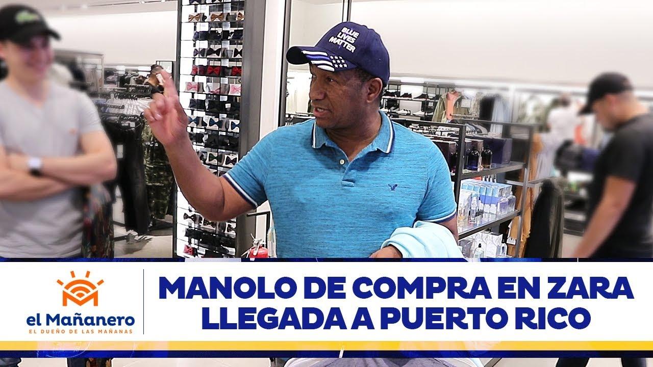 El Mañanero  - Manolo de compra en Zara y llegada a Puerto rico