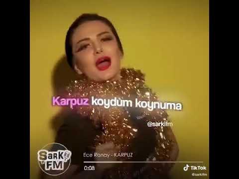 Ece Ronay Karpuz Karaoke (Hızlı Karaoke)