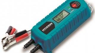 Зарядное устройство Hyundai HY 400 обзор Digital Smart Battery Charger смотреть