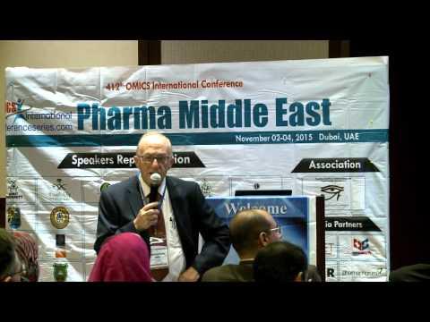 Anthony Serracino Inglott | Malta | Pharma Middle East 2015| Conference Series LLC