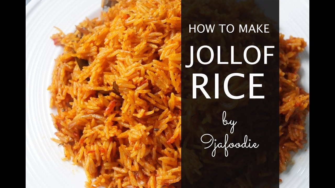 How to make basmati jollof rice youtube how to make basmati jollof rice ccuart Gallery