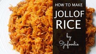 How To Make Basmati Jollof Rice