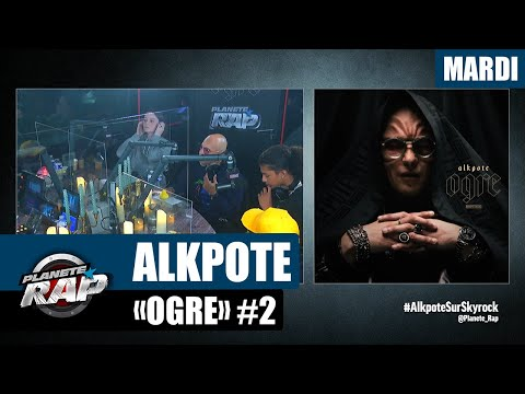 Youtube: Planète Rap – Alkpote«Ogre» avec Luv Resval, Holly, The S, Savage Toddy, Emsko et Fred Musa #Mardi