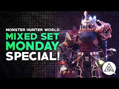 Monster Hunter World | Mixed Set Monday Arch Tempered Special!