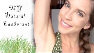 DIY: NATURAL COCONUT OIL DEODORANT + FIGHT BODY ODOUR NATURALLY