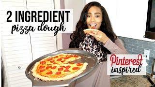 2 INGREDIENT PIZZA DOUGH | LoveLexyNicole