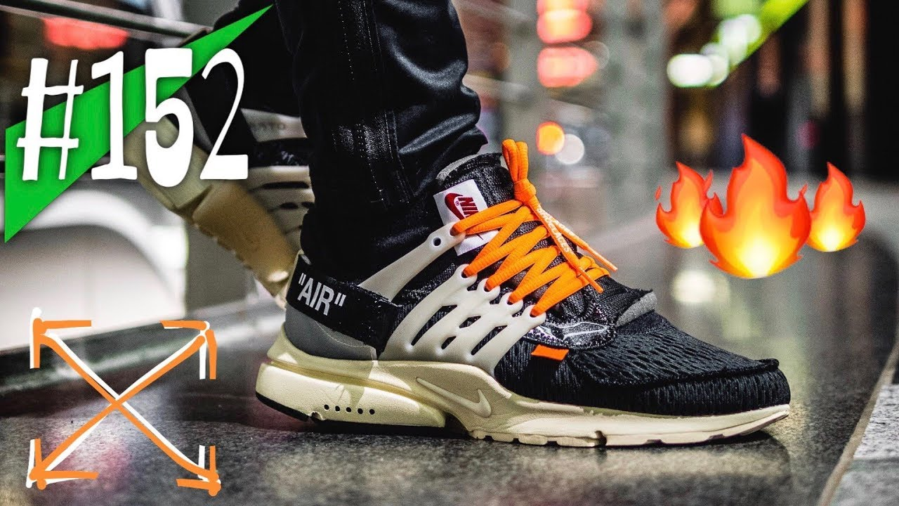 #152 - OFF WHITE x Nike Air Presto