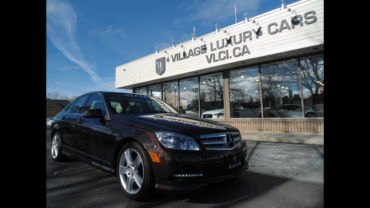 2011 mercedes-benz c300 [4matic] in review - village luxury cars