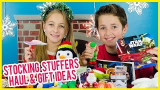 GIFTS IDEAS, STOCKING STUFFERS CHRISTMAS HAUL + $10 SHOPPING CHALLENGE! COOL TOYS DISNEY SHOPKINS