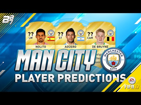 MAN CITY PLAYER RATING PREDICTIONS W/ AGUERO AND DE BRUYNE! | FIFA 17