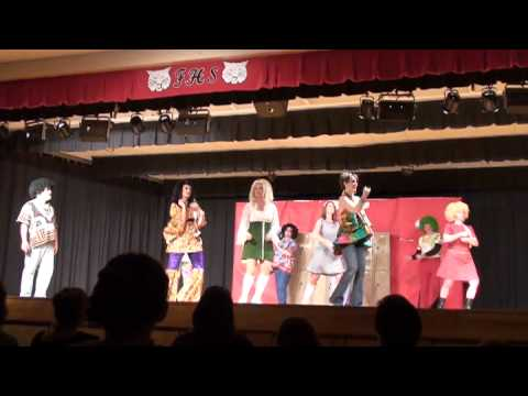 Flippin Middle School Mamma Mia - Dancing Queen