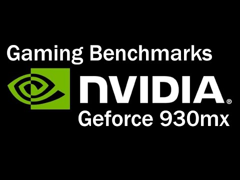 Gaming performance of Nvidia Geforce 930mx   #1
