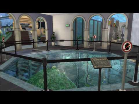 Sims 4 National Aquarium - YouTube