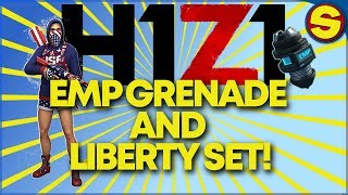 PS4 H1Z1 EMP UPDATE version 1.17! THE LIBERTY SET IS HERE!