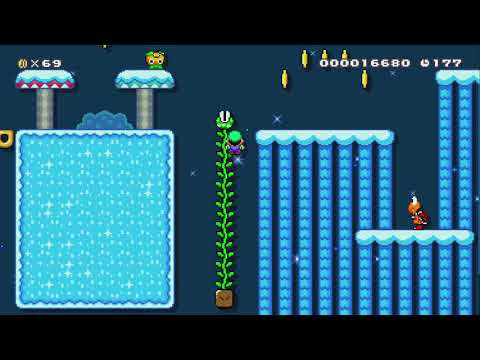 The frozen kingdom of Lorim by Thomeg - Super Mario Maker 2 - No Commentary