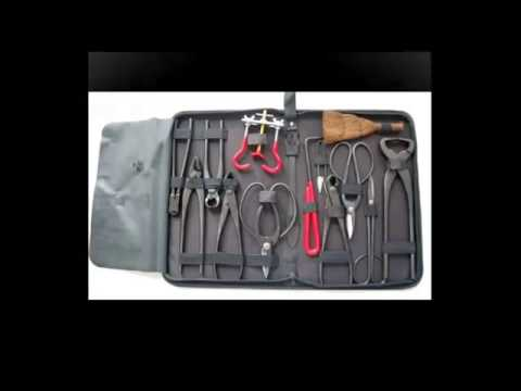 14 pc Bonsai Tool Set Carbon Steel  with case - Amazon Review