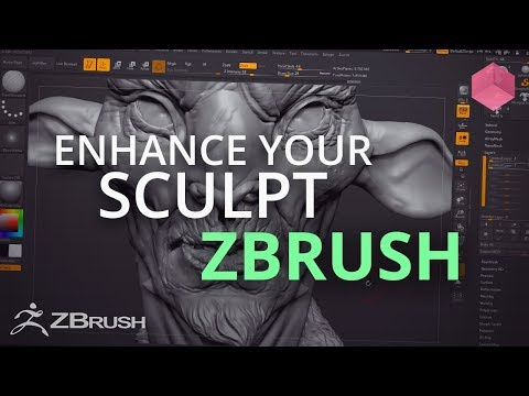 Enhancing your sculpt in ZBrush