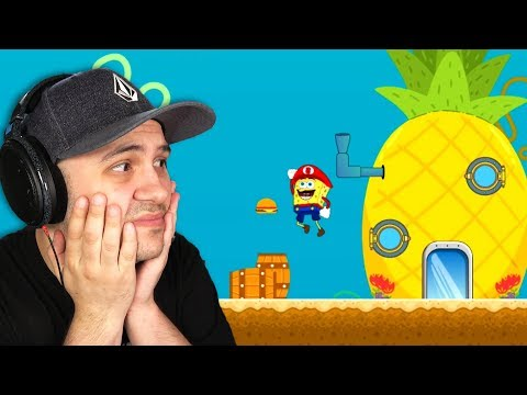 I Played Terrible Spongebob RIPOFF Games So You Don't Have To...