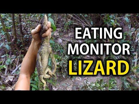HUNTING A MONITOR LIZARD