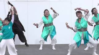 Yosakoi lovers 鐘馗『 天真爛漫 』☆蓮田市総合文化会館プレイベント2015