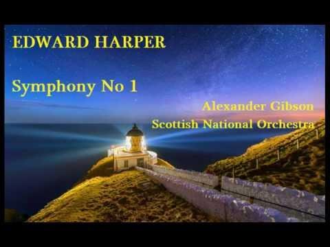 Edward Harper: Symphony No 1 [Gibson-SNO] premiere