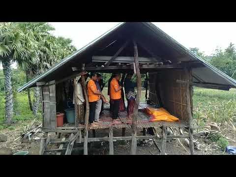 Tim Inafis Polres Jeneponto Ikut Menyolatkan Jenasah Yang Ditemukan Di Rumah Kebun