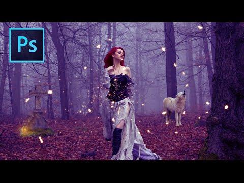 Magic Forest: Photoshop Manipulation Tutorial