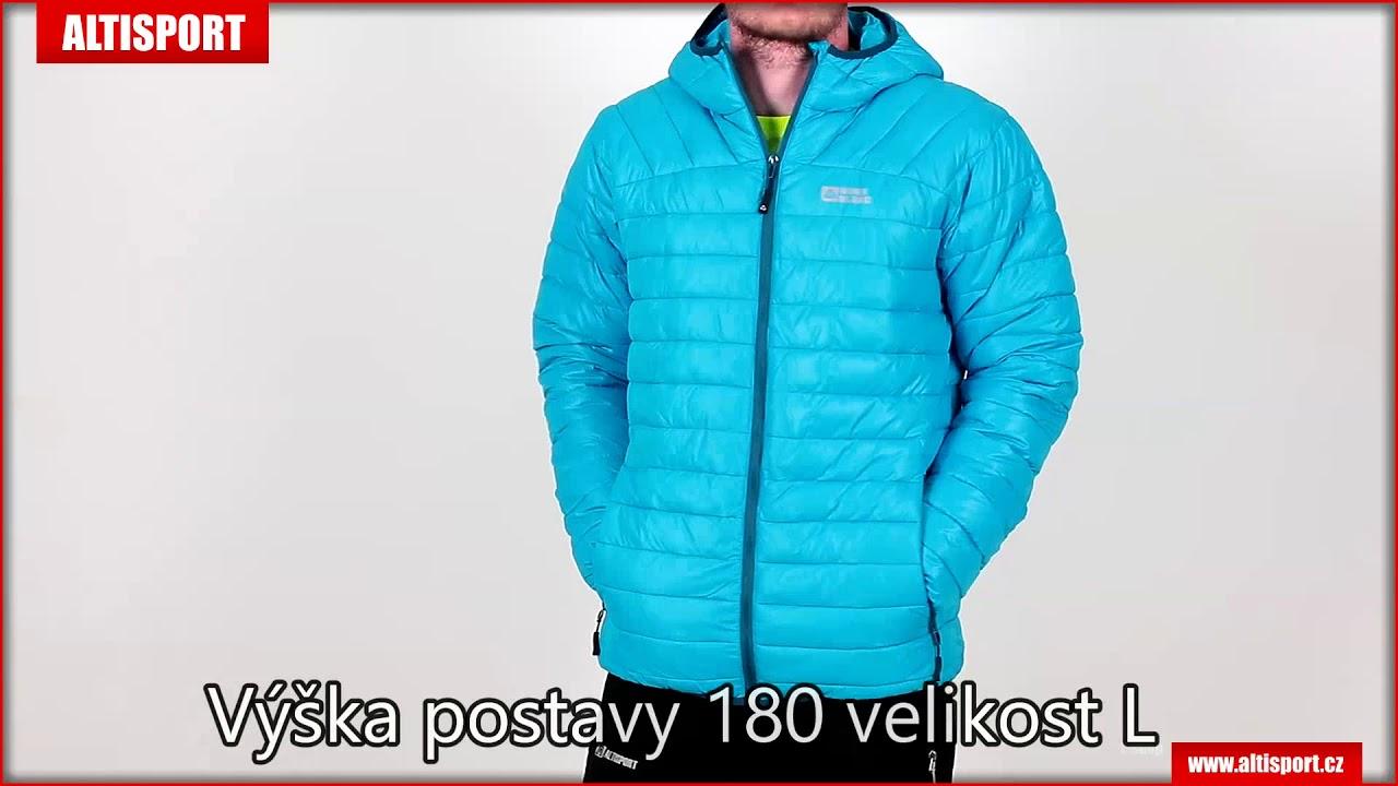 pánská zimní bunda nordblanc quilt nbwjm6410 královsky modrá - YouTube 0170f4d0719
