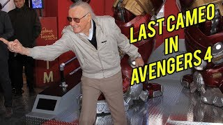 LEAKED: Stan Lee LAST CAMEO in Avengers 4   Stan Lee's CAMEO In Marvel Movie