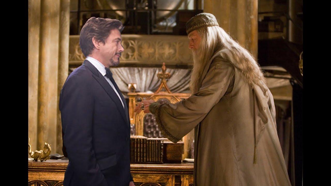 Tony Stark Hogwartsta Harry Potter Ron Man YouTube