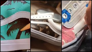 TIKTOK custom shoes! Vans Edition ( Old skool and vans lows )