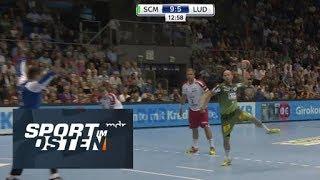 Handball: SC Magdeburg siegt bei Eulen Ludwigshafen | Sport im Osten | MDR