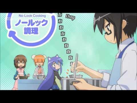 Acchi Kocchi - Tsumiki staring at Io