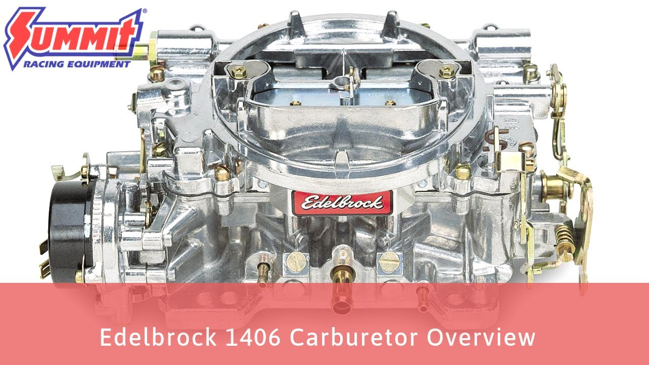 Edelbrock 1406 Electric Choke 600 CFM, 4-Barrel Performer Series Carburetor  Overview