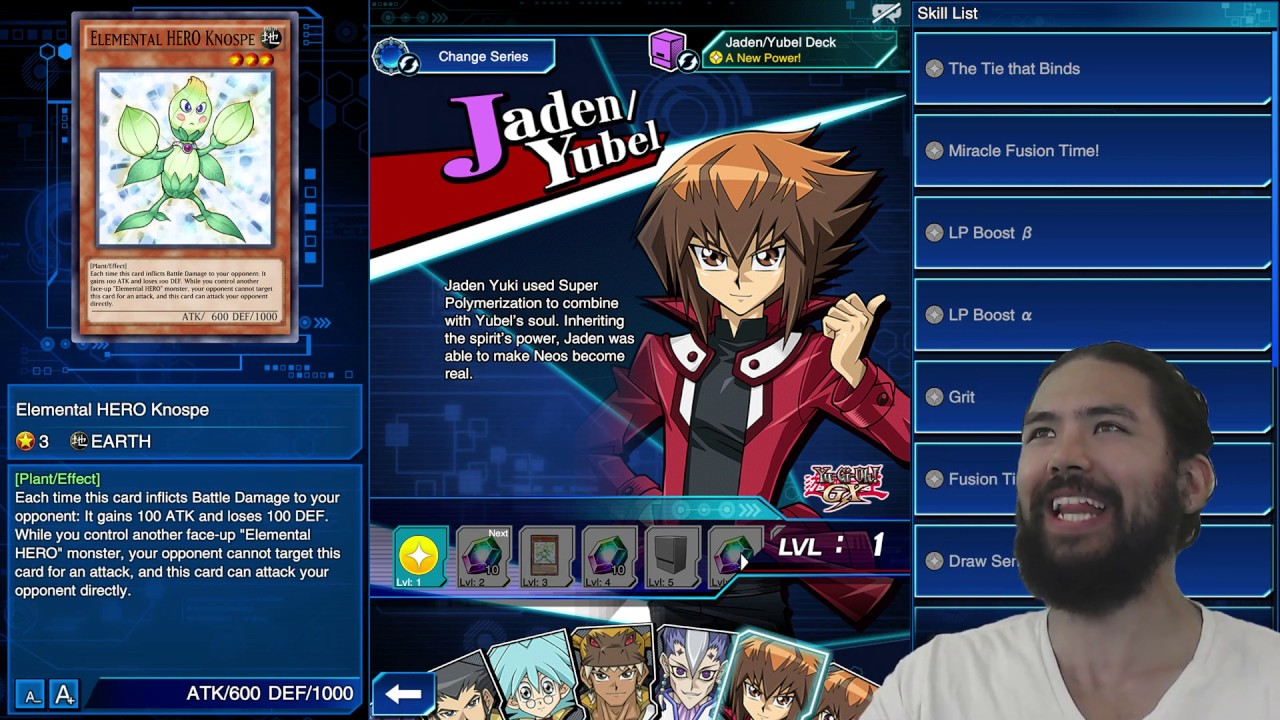 JADEN'S FORM HAS CHANGED [Yu-Gi-Oh! Duel Links]